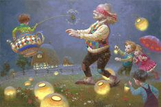 Victor Nizovtsev Biography and Paintings Blind Mans Bluff