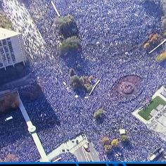 Kansas City Royals World Series parade 2015 - Sprint Center - Kansas City, MO on 11/3/2015 - 5090 photos, pictures and videos on CrowdAlbum