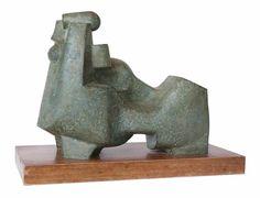 Exhibition Work / Aspects of Abstraction: Gallery II / Edoardo Villa: Reclining Figure - SOLD Modern Sculpture, Abstract Sculpture, Sculpture Art, Recliner, Modern Contemporary, Sculpting, Art Gallery, Villa, Bronze