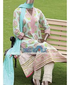 Pakistani Designer Lawn Suits 2015 Online From Junaid Jamshed