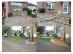 Sandstone Paving Installation :: Oakfield Landscaping :: 2012/2013