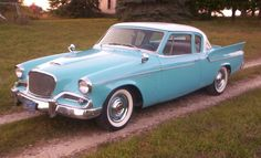 1959 Studebaker Rare Silver Hawk