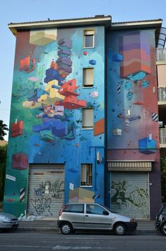 ETNIK – NEW MURAL in BOLOGNA, ITALY'2012