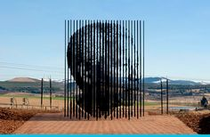 Get well #Madiba secondsminuteshours:  Sculpture for Mandela on wjs magazine.