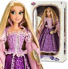 "RARE Disney Store Princess Rapunzel 17""h Limited Edition Doll VHTF Pefect gift!"