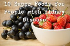 10 Superfoods for People with Kidney Disease Diet is incredibly important for kidney disease patients. What you eat can cause, prevent, or even help alleviate pain and symptoms.