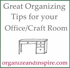 Great Organizing Blog