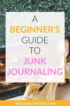 Combine your love for scrapbooking and journaling by learning about junk journaling. Includes junk journal ideas, pages, DIYs, scrapbook layouts, and ideas on how to start a journal. Great DIY scrapbook ideas for beginners. Read now to learn how to make a junk journal! #crafts #diy #junkjournal #scrapbook #journal #journaling