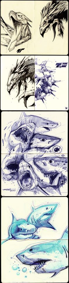 Sketches 2011-2013 by Artem Solop Kiev, Ukraine on Behance | Character Design | Drawing | Illustration | Drawing | Draw | Sketch | Doodle | Ilustração |