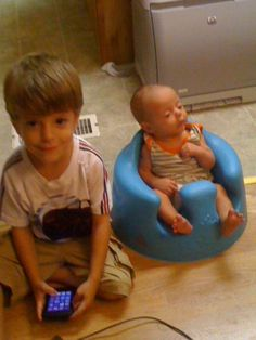 My Grandsons, Connor and Kenny