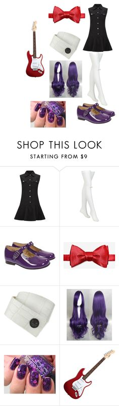 """""""Five Nights at Freddy's Bonnie Outfit"""" by ender1027 ❤ liked on Polyvore featuring McQ by Alexander McQueen, Chantal Thomass and KATIE Design"""