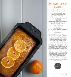 Clementine cake from http://issuu.com/machemag/docs/mache_winter2012