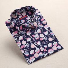 Dioufond Women Flower Blouses 2017 Cotton Floral Ladies Tops Summer Flower Shirts Blusas Femininas 5XL Plus Size Women Clothing