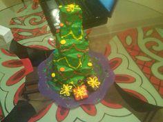 mini christmas tree cake