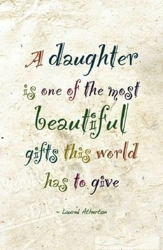 A daughter is a wonderful gift in your life. Find and save ideas about Daughter quotes ih here. Our daughters are special and they are beautiful. May these quotes give you words that express your feelings for your daughter. Mother Daughter Quotes, I Love My Daughter, My Beautiful Daughter, Love My Kids, I Love Girls, My Love, Love Quotes For Daughter, I Love God, My Daughter Birthday