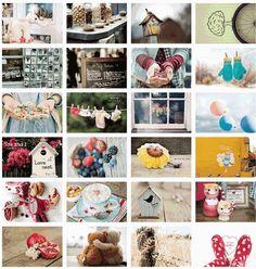 FLORASTUDIO vintage green box Blessing Postcards Gift /Christmas Card/Greeting Card/ Birthday card /