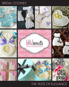 Bridal Cookie Collection  Like, repin, share!  Thanks:)