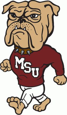 Mississippi State mascot...Bulldogs...it's weird...first the University of Georgia, then Mississippi State, then becoming the principal at Enterprise Middle School in Enterprise, Mississippi...bulldogs have been a big part of my life...maybe I need one for a pet!