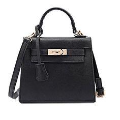 RW Collections Womens ALEE Fashion Handbag Satchel Tote Bag Purse (Black) RW Collections http://www.amazon.com/dp/B00MF24NPO/ref=cm_sw_r_pi_dp_5ic-tb14QM24X