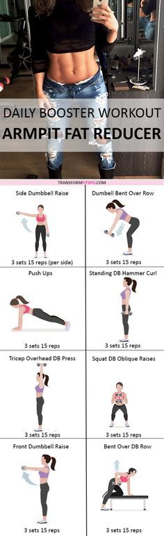 Repin if this workout helped you melt that embarrassing armpit fat! Read the post for all the information!