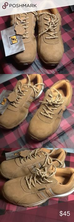510190bfbc5149 Barium steel toe shoes Leather uppers  padded ankle cllar  oil resistant  rubber sole
