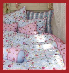 PiP Bettwäsche Chinese Rose blau blue Deko Kissen 135x200 155x220 45x45 22x70 | eBay