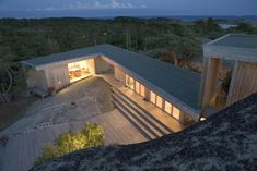 Cabin Karevold in Stavern, Norway by Lund Hagem Arkitekter Bergen, Residential Architecture, Interior Architecture, Beautiful Buildings, Beautiful Homes, Tiny House, Casa Patio, House By The Sea, Renting A House