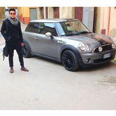 Piero and his car.