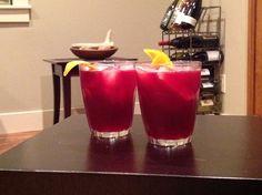 Bourbonberry Cocktail