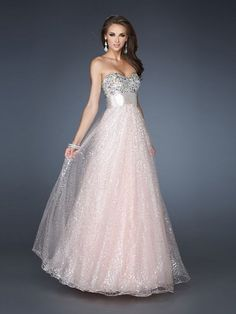 2014 Cheap Prom Dress Cheap Prom Dresses Style A-line Sweetheart Rhinestone Sleeveless Floor-length Organza Prom Dresses