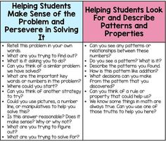 Math Tasks Guiding Questions - This post explains how to ask guiding questions during math class AND explains the eight Math Tutor, Teaching Math, Maths, Teaching Ideas, Math Games, Math Talk, Math Problem Solving, Math Questions, Math Word Problems