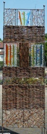 Weidenflechtkurse im Glas Stadl Glas Kunst Atelier Fusingglas Atelier in Oberrieden bei Altdorf / Nürnberg / Bayern / Neumarkt