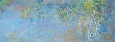 https://flic.kr/p/8hWxos   Glycines (C Monet - W 1903)   Huile sur toile, 100 x 300 cm, 1917-1920 (W 1903), musée Marmottan, Paris.  Pour voir la photo en grand format : www.flickr.com/photos/7208148@N02/25397877485/in/datepost...  Merci Michelangelo pour la photo : www.flickr.com/photos/47934977@N03/22163347608/in/album-7...