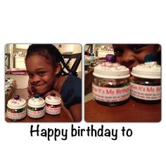 So we were looking for something fun for a take home birthday treat for the kids at her school we out our own twist on it she had so much fun making these  Baby food bottles am latex caulk from Walmart hardware, glitter and a cute bell to make it look like a mini cupcake. With a cute label