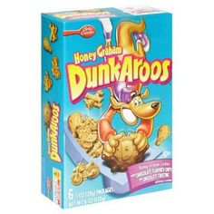 How I miss DunkAroos... the kind with chocolate icing, of course!