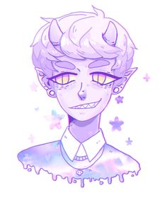 lavender boy by soudas.deviantart.com on @DeviantArt