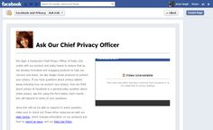 "Techofy: Facebook announced a new feature called ""Ask Our CPO"""