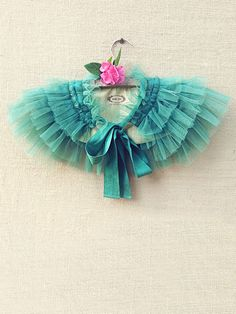 Gorgeous for my girlies. Gia Ruffled Caplet