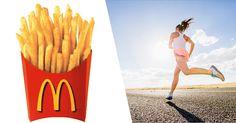 Benieuwd hoelang je moet joggen om dat pak chips van gisteren eraf te krijgen? De populairste snacks mét kilometerberekening op een rijtje: