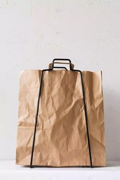 Simple, Sustainable Storage from Everyday Design in Finland - Remodelista Shopping Bag Design, Paper Shopping Bag, Declutter Your Life, Creature Comforts, Helsinki, Bag Storage, Finland, Packaging Design, Design Art