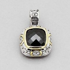 """Selling this """"Black Pendant with lobster claw style clasp"""" in my Poshmark closet! My username is: jennifer2006. #shopmycloset #poshmark #fashion #shopping #style #forsale #inspired David Yurman #Jewelry"""