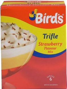 Strawberry Trifle Mix 144g, Bird's