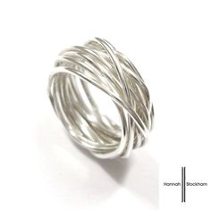 Polished Sterling Silver Wire Ring