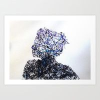 Art Print featuring Missing Me by Daniel Plaskett