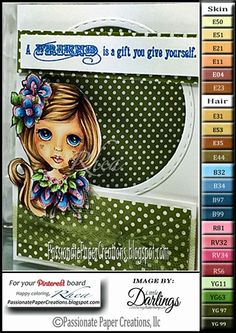 Passionate Paper Creations: New! Dollhouse Collection from Little Darlings Rubber Stamps