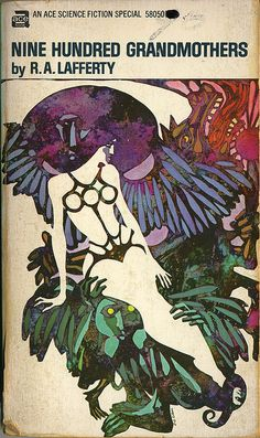 Nine Hundred Grandmothers (paperback 1970), cover art by Leo and Diane Dillon