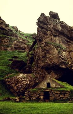 Icelandic Turf House and Cave