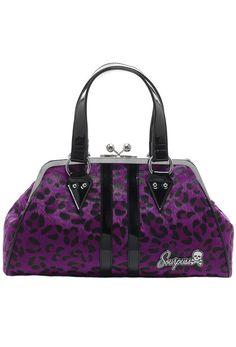 Sourpuss Temptress Purse - Purple