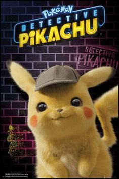 The Detective Pikachu film poster shows Detective Pikachu himself, voiced by Ryan Reynolds in the movie, we cannot wait to see his portrayal of the iconic electric Pokemon. Detective Pikachu is a coffee drinking, mystery solving Pokemon Pikachu Pikachu, Foto Pikachu, Pikachu Kunst, Pikachu Mignon, Pikachu Cake, Deadpool Pikachu, Pokemon Memes, 3d Pokemon, Cute Pokemon Wallpaper