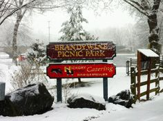 Welcome to Brandywine Picnic Park & Hickory House Catering- Spring Snow- Chester County, West Chester, PA 3/25/13